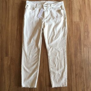 NWT Eileen Fisher Exclusive Slim Ankle Jean